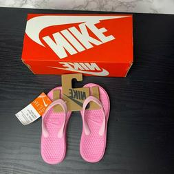 New With Box Nike Solay Thong Kids Girls 11C Light Pink Sand