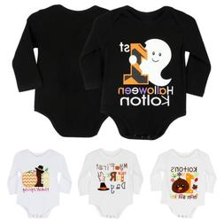 Novelty Newborn Kids Baby Boys Girls Bodysuit Romper Jumpsui
