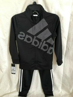 NWT Adidas Girls 2 Piece Set Hoodie and Pants Clothes Size 6
