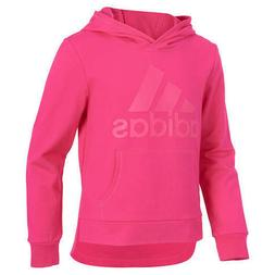 NWT ADIDAS Girls' Pullover Fleece Hoodie Sweatshirt XL 16 Bi