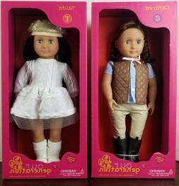 """Our Generation Dolls Talita & Catarina 18"""" Fashionable and F"""