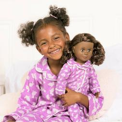 """Our Generation You & ME Bunny Pajamas Outfit Girls 18"""" Doll"""