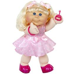 Cabbage Patch Kids Blonde Kid Pink Heart Dress Fashion Baby