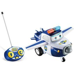 Super Wings Paul RC Remote Control Car Vehicle Figure Gift T