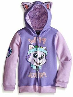 Paw Patrol Little Girls' Everest Toddler Hoodie, Lilac/Purpl