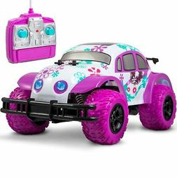 Pixie Cruiser Pink and Purple RC Remote Control Car Toy for