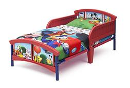 Delta Children Plastic Toddler Bed, Disney Mickey Mouse