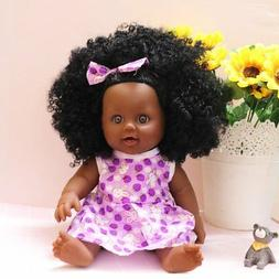 Nice2you Black Girl Dolls African American Dolls Lifelike 12