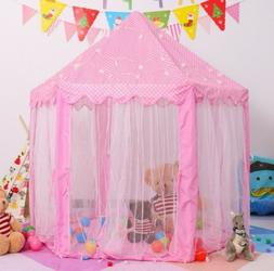 Princess Castle Play House Pink Large Indoor/Outdoor Kids Gi