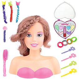 Princess Styling Head Doll Playset with Beauty and Fashion A