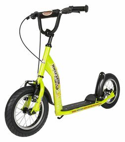 BIKESTAR® Push Kick Kids Scooter With Brakes and 10 Inch Ai