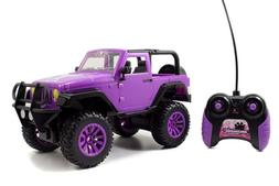 RC Vehicle Remote Control Toy Big Foot Jeep Teen Girl Barbie