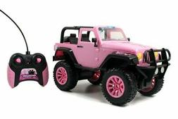 Rc Vehicle Remote Control Toys Big Foot Jeep Pink Teen Girl