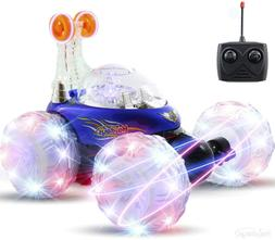 RC Vehicle Toy Rechargeable Car Play Kids LED Lights & Music