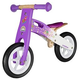 BIKESTAR® Original Safety Wooden Lightweight Kids First Bal