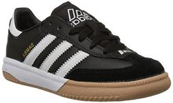 adidas Performance Kids' Samba M K Indoor Soccer Cleat ,Blac