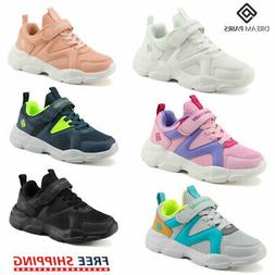 DREAM PAIRS Sneakers Kids Girls Boys Sport Athletic Casual W