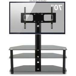 Swivel Corner Floor TV Stand with Mount for 37 42 47 50 55 6