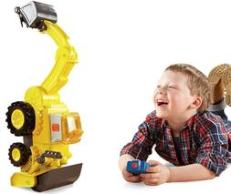 Talking Scoop Toy Bob The Builder Motorized RC Super Vehicle