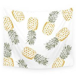 Pineapple Tapestry Wall Hangings Wall Blanket Art Dorm Shawl