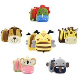 Toddler Kids Children Boy Girl Cartoon Backpack Schoolbag Sh
