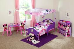 Toddler Mousey Canopy Bed Disny Princess Little Girls For Ki