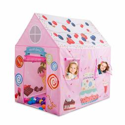 Toys For Girls Kids Children Play Tent House For 1-8 Year Ol