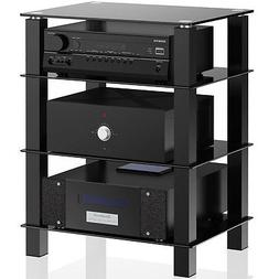 TV Entertainment Center Offfice Stand Shelves Media Console