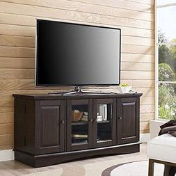 "Walker Edison 52"" TV Stand in Espresso"