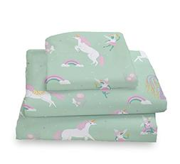 Where The Polka Dots Roam Twin Size Sheets Fairytale Unicorn