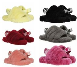 UGG Kid's Fluff Yeah Slides Sandals for Kids/ Big Kids Authe