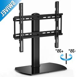 Fitueyes Universal TV Stand Base Swivel Tabletop TV Stand mo