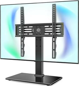 FITUEYES Universal TV Stand Base Swivel Tabletop TV Stand Ba