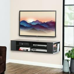 FITUEYES Wall Mounted Media Console,Floating TV Stand Compon