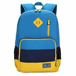 Kids Waterproof Backpack for Elementary or Middle School Boy