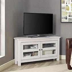 white wash wood tv stand