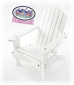Matty's Toy Stop White Wooden Doll Furniture Adirondack Deck