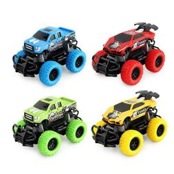 Wireless RC Car 4 Channels Off-road Electric Vehicle Toys Fo
