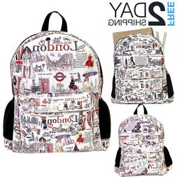Women Backpack Back to School Bag Shoulder Rucksack Laptop B