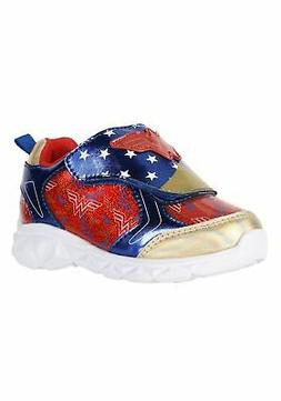 Wonder Woman Lighted Child Athletic Sneakers