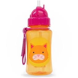Skip Hop Straw Cup, Toddler Transition Sippy Cup, Cat